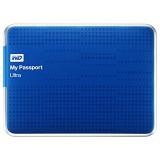 WD My Passport Ultra 500GB USB3.0 [WDBPGC5000ABL-PESN] - Blue - Hard Disk External 2.5 inch